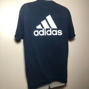 FREE W ITEM OVER $16 Small ADIDAS Navy Blue Shirt